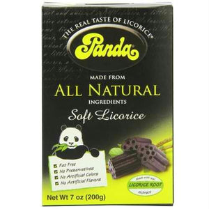 Panda Natural Licorice Chews Box (12x7 Oz)