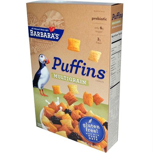 Barbara's Multigrain Puffin Cereal (12x10 Oz)