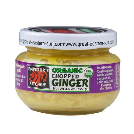 Emperor's Kitchen Chopped Ginger (12x4.5 Oz)