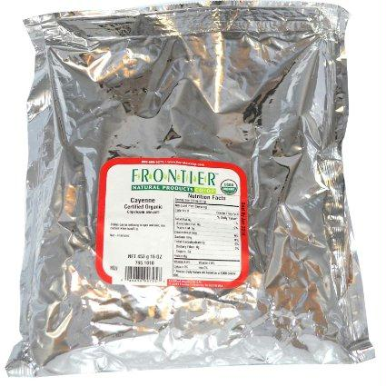 Frontier Herb Cayenne 35000 Hu (1x1 Lb)