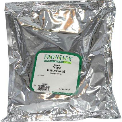 Frontier Herb Ground Yellow Mustard Seed (1x1lb)