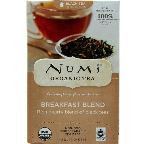 Numi Tea Breakfast Blend Black Tea (6x18 Bag)