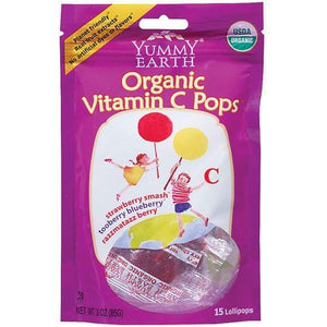 Yummy Earth Vitamin C Lollipop (6x3 Oz)