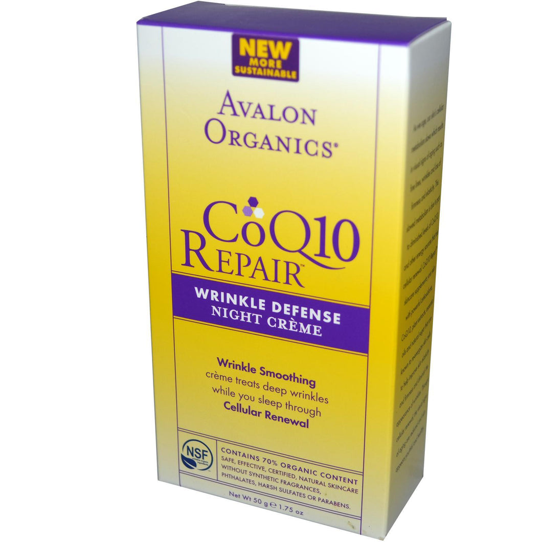 Avalon Coq10 Wrinkle Defense Night Cream (1.75oz)