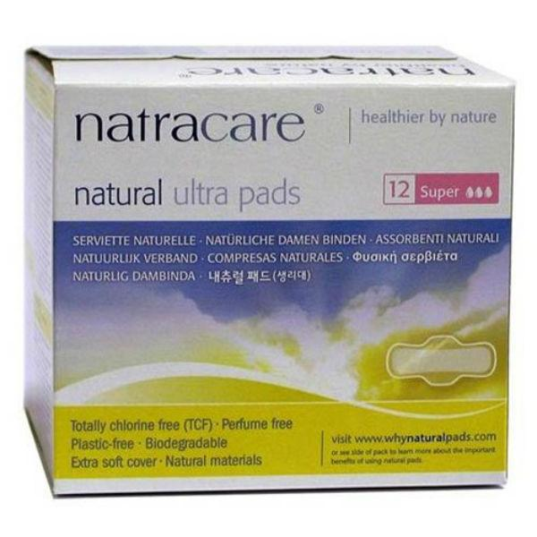 Natracare Super Pads (1x12 Ct)