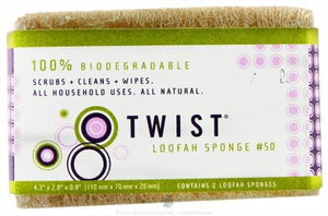 Twist Loofah Cleaning Sponge (12x2 Oz)