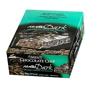 Nugo Dark Mint Chocolate Chip Nutrition Bar (12x1.76 Oz)