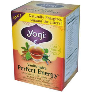 Yogi Perfect Energy Vanilla Spice Tea (6x16 Bag)
