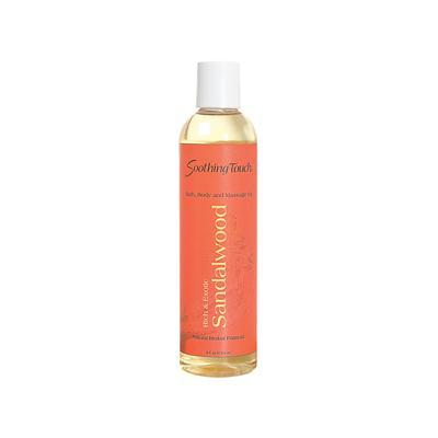 Soothing Touch S.t. Massage Oil Sandalwood (1x8 Oz)