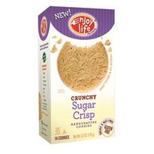 Enjoy Life Crunchy Sugar Crisp Cookies (6x6.3 Oz)