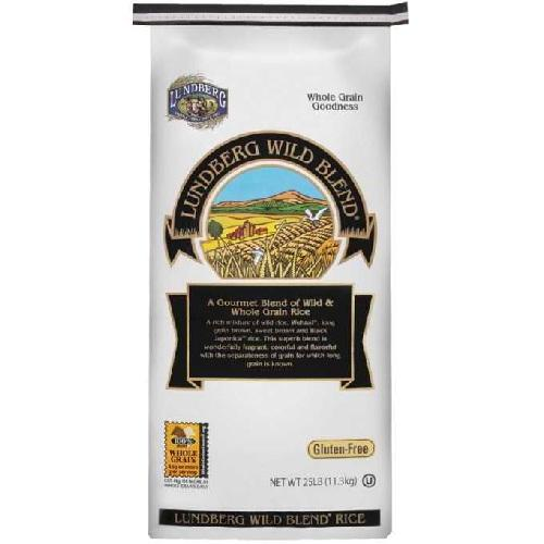 Lundberg Farms Wild Blend Rice (1x25lb)