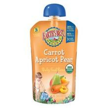 Earth's Best Pear Carrot Apricot 3rd Puree (2x6x4.2oz)