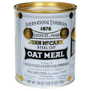 Mccann's Irish Oatmeal Tin (12x28 Oz)
