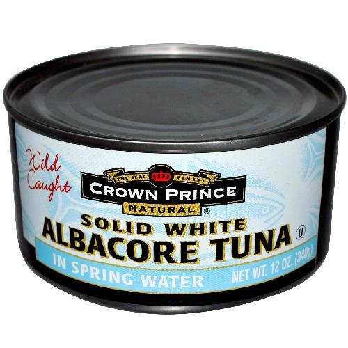 Crown Prince Albacore Tuna In Water (12x12 Oz)