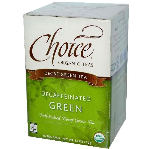 Choice Organic Teas Decafinated Green (6x16 Bag)