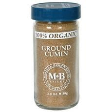 Morton & Bassett Organic Ground Cumin (3x2oz)