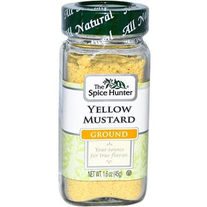 Spice Hunter Mustard, Ground, Yellow (6x1.6oz)