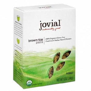 Jovial Organic Brown Rice Fusilli (12x12oz)