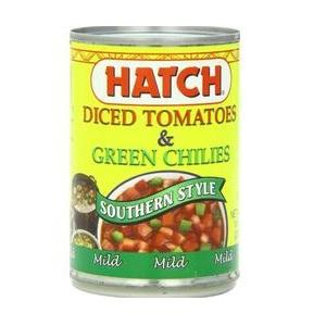 Hatch Farms Diced Green Chilies Mild (24x4 Oz)