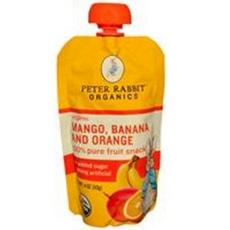 Peter Rabbit Organics Organic Fruit Snack 100% Pure Strawberry And Banana (10x4oz)