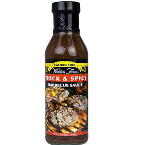 Walden Farms Calorie Free Thick 'n Spicy Bbq Sauce (6x12 Oz)