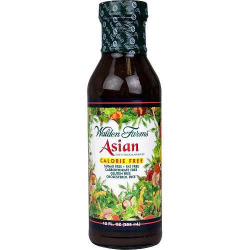 Walden Farms Calorie Free Asian Salad Dressing (6x12 Oz)