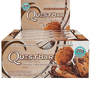 Quest Double Chocolate Chunk Bar (12x2.12 Oz)