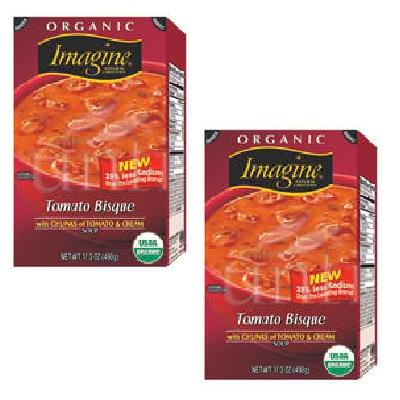 Imagine Foods Tomato Bsq Soup (12x17.3oz )