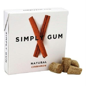 Simply Gum All Natural Gum Cinnamon (12x15 Ct)