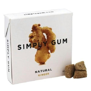 Simply Gum All Natural Gum Ginger (12x15 Ct)
