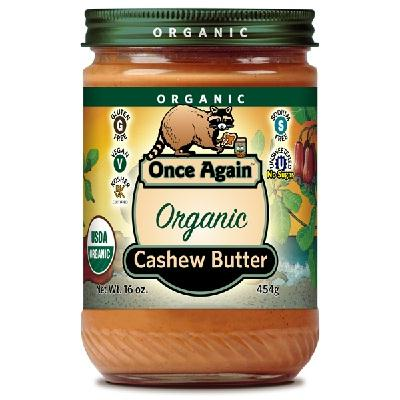 Once Again Cashew Butter Nat (12x16oz )