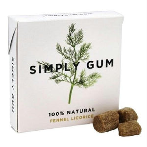 Simply Gum All Natural Gum Fennel Licorice (12x15 Ct)