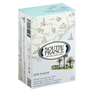 South Of France Cote D'azur French Milled Oval Soap (1x6 Oz)