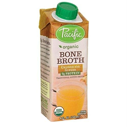 Pacific Natural Foods  Pnf Chicken Ginger Bone Broth (12x8 Oz)