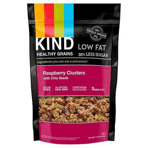 Kind Healthy Grains Raspberry Clusters With Chia Seeds (6x11 Oz)