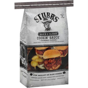 Stubb's Bar-b-q Slider All Natural Cookin' Sauce (6x12 Oz)