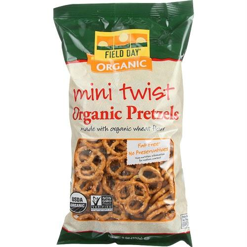 Field Day Mini Twist Pretzel  (12x8 Oz)