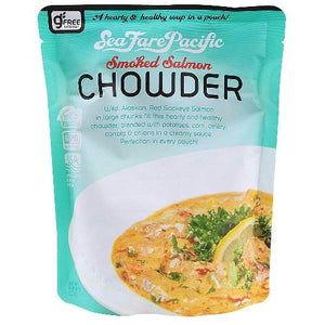 Seafare Pacific Smoked Salmon Chowder (8x9 Oz)