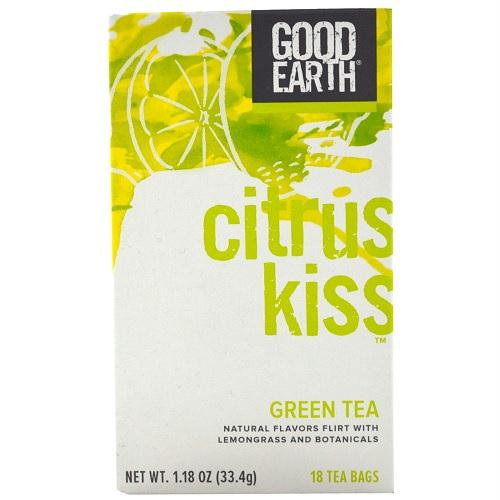 Good Earth Citrus Kiss Green Tea  (6x18 Ct)