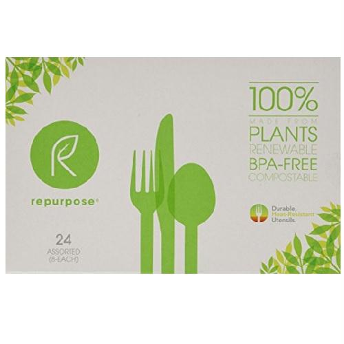 Repurpose High-heat Tolerant Utensils Set (20x24 Ct)