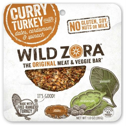 Wild Zora Turkey Masala Spinach  (10x1 Oz)