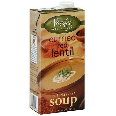 Pacific Natural Foods Curry Rd Lntl Soup (12x32oz )