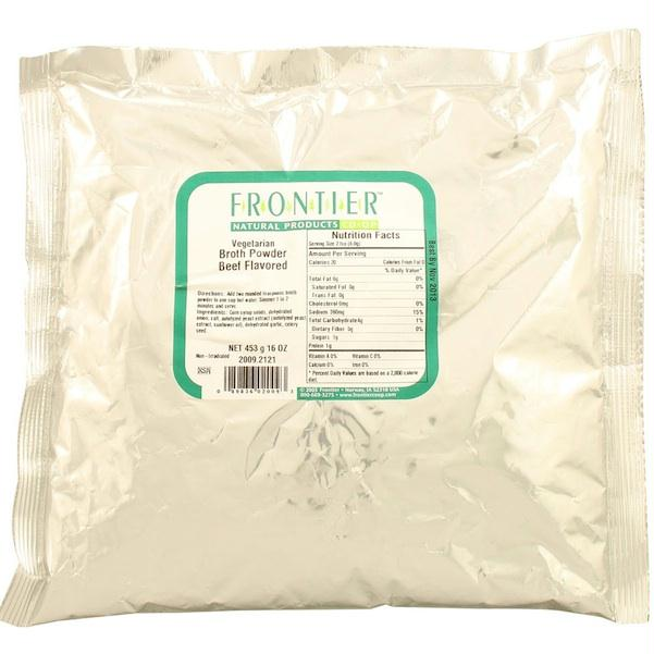 Frontier Beef Broth Powder (1x1lb )