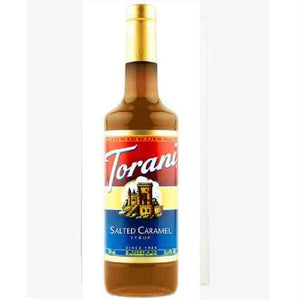 Torani Coffee Syrup, Salted Caramel (12x25.4 Oz)