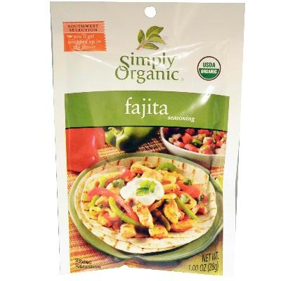 Simply Organic Fajita Seasoning (12x1oz )