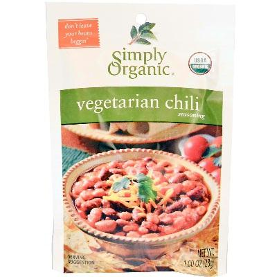 Simply Organic Veget Chili Ssn (12x1oz )