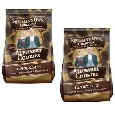 Newman's Own Organics Alphbet Cookie Chocolate (6x7oz )