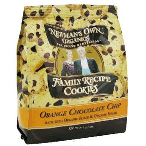 Newman's Own Organics Orange Cchip Cookie (6x7oz )