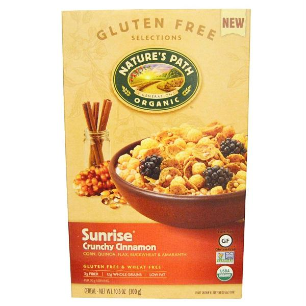 Natures Path Sunrise Crunchy Cinnamon  (12x10.6 Oz)