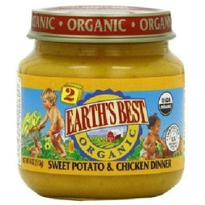 Earth's Best Baby Foods Baby Sweet Pot-chicken (12x4oz )